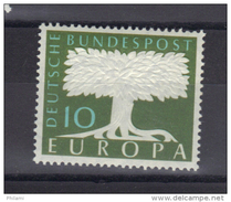 EUROPA 1957 ALLEMAGNE FILIGRANE ** MNH .  (3N7) - Europa-CEPT