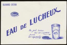 Buvard - EAU De LUCHEUX - Buvards, Protège-cahiers Illustrés