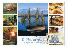 ROCHEFORT - 17 - L`HERMIONE CARTE MAXIMUM 2008 - Cartes-Maximum