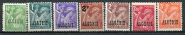 ALGERIE - Yv. N°  230 à 236 Complet  ** MNH  Iris  Cote  4,9  Euro  TBE 2 Scans - Algeria (1924-1962)