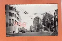CPSM 14 X 9 * * LA GARENNE-COLOMBES * * Boulevard De Verdun, Rue De Courbevoie - La Garenne Colombes