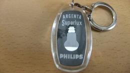 Années 60  Ancien 1 Porte Clé  Plstique Argenta Superlux PHILIPS - Key-rings