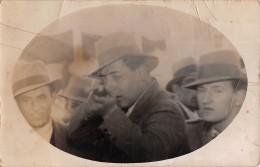 """06826 """"FOTO LAMPO - LUNA PARK"""" ANIMATA. FOTOCARTOLINA ORIGINALE - Personnes Anonymes"""