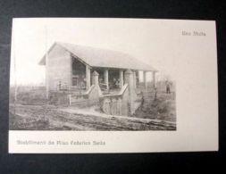 Foto Cartolina Militaria Mitragliatrice Inizi 1900 - Foto