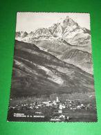 Cartolina Paesana ( Cuneo ) - Panorama E Il Monviso 1950 - Cuneo