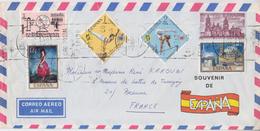 = Timbre Espagne 6 Sur Enveloppe Août 1971 - 1931-Hoy: 2ª República - ... Juan Carlos I