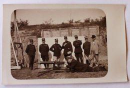 Foto Cartolina Militaria Mitraglieri Inizi 1900 - Foto