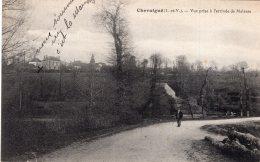 V10275 Cpa 35 Chevaigné - Vue Prise à L'arrivée De Melesse - Francia
