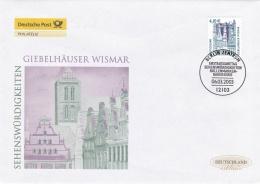Germany FDC 2003 Giebelhäuser Wismar (T19-16) - [7] West-Duitsland