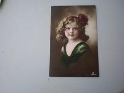 Postcard, Child - Portraits
