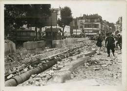 23 /07/1912 CHARENTON VUE GENERALE DU PONT APRES LA TERRIBLE EXPLOSION DE CETTE NUIT - Orte