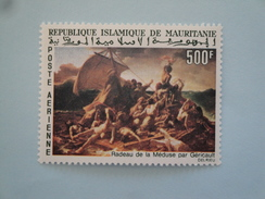 1966  Mauritanie Yvert  PA 61 **  Bateaux Ships  Scott C 58  Michel 289 SG Xx  Painting - Mauritanie (1960-...)