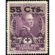 ES379STV-LFT**378S.España. Spain   Espagne.JUBILEO DEL REY  ALFONSO Xlll.1927 (Ed 379*) MAGNIFICO - 1889-1931 Reino: Alfonso XIII