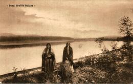 VERY RARE  PEND´OREILLE INDIANS  1909 - Indios De América Del Norte