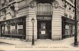 92 BOULOGNE-sur-SEINE  La Société Générale 46 Bd De Strasbourg - Boulogne Billancourt