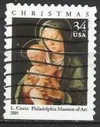 Stati Uniti Lotto N.312 Del 2001 Yvert N.3615a Usato - Etats-Unis