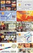 HB-CT 103 Lot De 10 Cartes Téléphoniques Sur Le Thème Des Telecom - Téléphones