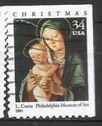 Stati Uniti Lotto N.316 Del 2001 Yvert N.3615c Usato - Etats-Unis