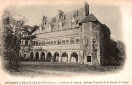 ENVIRONS D'EVAUX LES BAINS CHATEAU DE LEPAUD - Evaux Les Bains