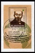 DDR 1987 - 100 Jahre Esperanto / L.L. Zamenhof Erfinder Der Weltsprache - Block 87 - Esperanto