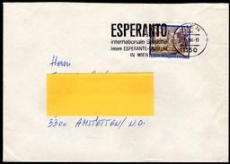 ÖSTERREICH 1986 - Esperanto - Sonderstempel Beleg - Esperanto