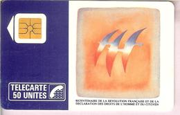 HB-CT 104 Carte Téléphonique Bicentenaire De La Révolution Française / Folon - Culture