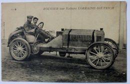 Cartolina Rougier Vettura Lorraine Dietrich Inizio '900 - Non Classificati