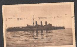 1914 Regia Nave Amalfi Genova  Ships Boote Schiffe Navires Navi - Guerra