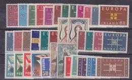 Europa Cept 1963 Year Set 19 Countries ** Mnh (36075) - Europa-CEPT