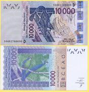 West African States 10000 Francs P-418D 2016 Mali (D) UNC - West African States