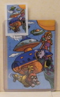 MONDOSORPRESA,(SC00)  FERRERO PUZZLE + CARTINA  K01 N111 - Puzzles