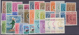 Europa Cept 1966 Complete Yearset 19 Countries (see Scan) ** Mnh (36076) - Europa-CEPT