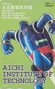 Carte Prépayée Japon - MANGA - ROBOT AICHI - ANIME Japan Prepaid Card - BD Comics Tosho Karte - 4064 - BD