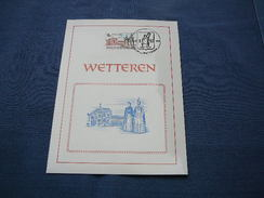 (10.06) BELGIE Wetteren 1978 - Cartes Souvenir