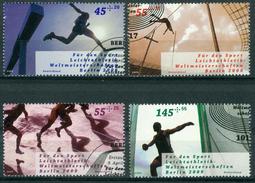 BM BRD 2009 - MiNr 2727-2730 - Used - Sporthilfe: Leichtathletik-Weltmeisterschaften Berlin - Gebraucht