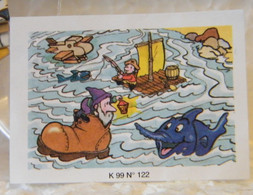 MONDOSORPRESA, (SC00) FERRERO PUZZLE + CARTINA  K99 N122 - Puzzles