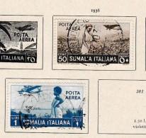 Somalia      .     Page With Stamps - Somalia