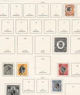 Tanganyka          .     Page With Stamps - Kenya, Uganda & Tanganyika