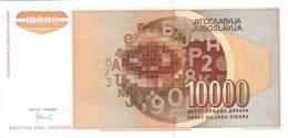 YUGOSLAVIA P. 116a 10000 D 1992 UNC - Yougoslavie