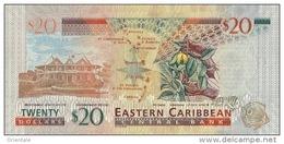 EAST CARIBBEAN STATES P. 53a  20 D 2012 UNC - Caraïbes Orientales