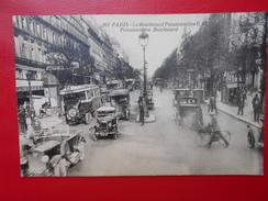 Paris :Boulevard Poissonière-Café Brébant (P1476) - Cafés, Hôtels, Restaurants