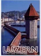 LUZERN Wasserturm Mit Kapellbrücke - LU Lucerne
