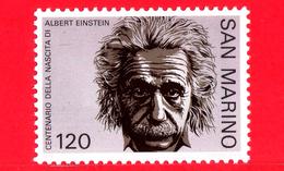 Nuovo - MNH - SAN MARINO - 1979 - Centenario Della Nascita Di Albert Einstein (1879-1955), Fisico Teorico - Ritratto 120 - Ungebraucht