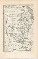 LAMINA ESPASA 22516: Mapa De Sudan Anglo Egipcio - Other Collections