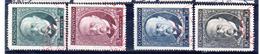 1930 80 Ans De Masaryk Y 270 -273   Mi  299 - 302 Oblitération 1er Jour 7/3 - Used Stamps