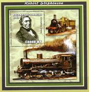 Mocambique  Block 1  Stephenson Dampflokomotive  ** / MNH - Trains