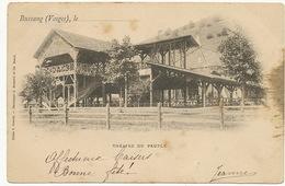 Bussang Theatre Peuple  Franck Bergeret 1899 Vers Marie Klein Pensionnat Jesus Marie Remiremont Dechirure 7 Mm - Bussang