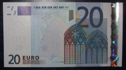20 EURO G014E2 Netherlands Serie P Perfect UNC - EURO