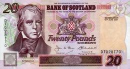 * SCOTLAND 20 POUNDS 2001 P-121d UNC [SQ121d] - [ 3] Scotland