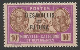 Wallis And Futuna, 10 F. 1944, Sc # 126E, MNH - Wallis And Futuna